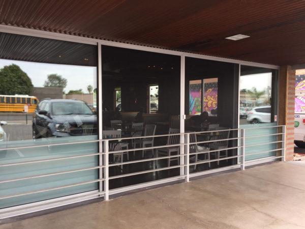 Sliding Glass Wall Screen Door