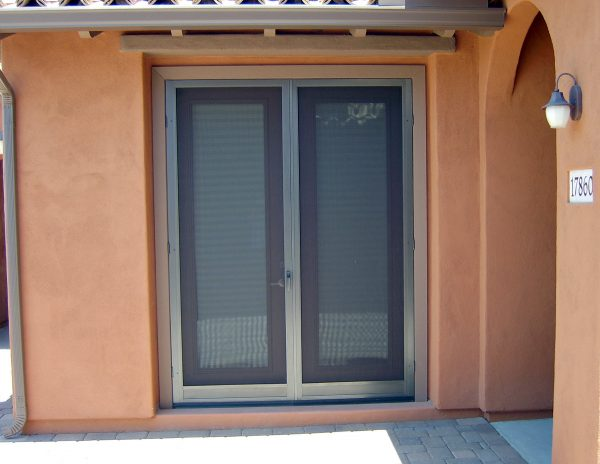 Swinging Screen Door