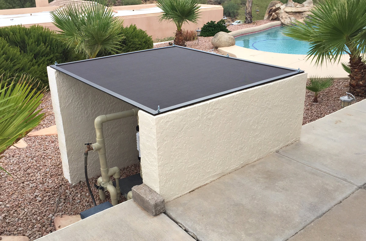 Pool Equipment Cover Arizona Sun Screen