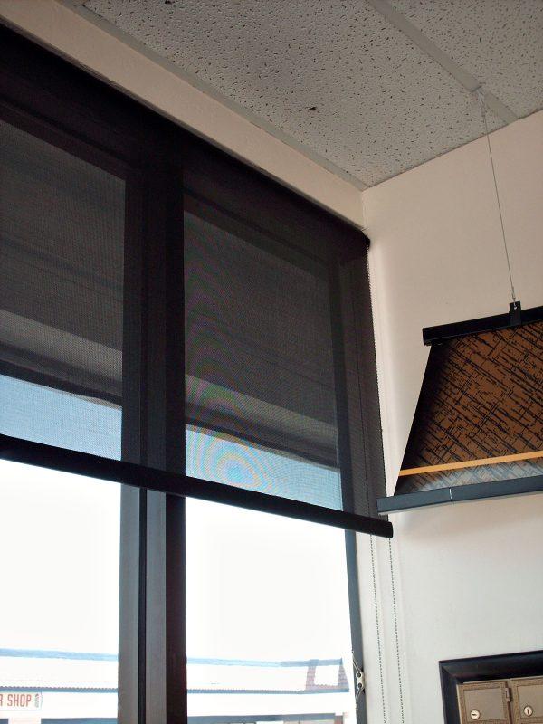 Roll-Up Window Sun Screen