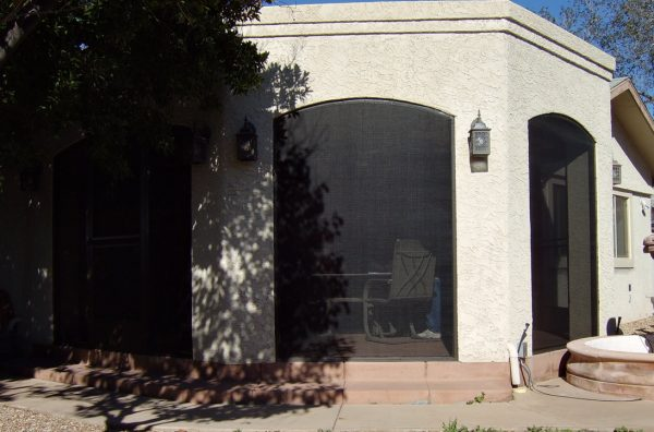 Patio Enclosure with Arches