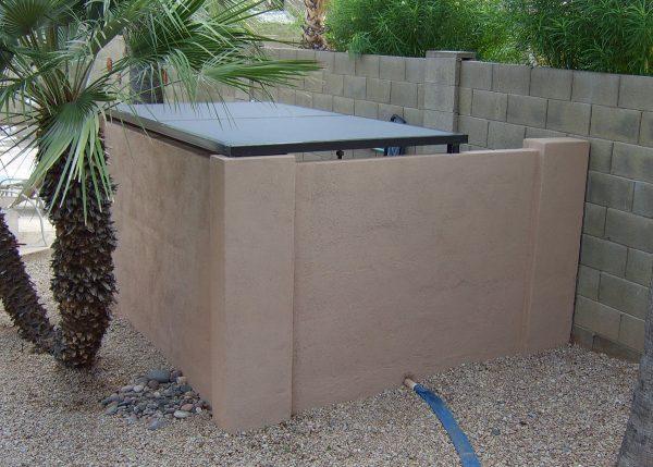 Pool Equipment Cover Screen