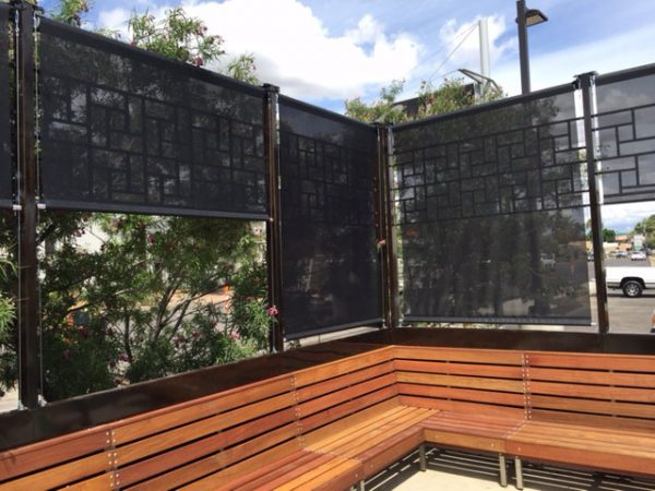 Patio Roll-Up Screen