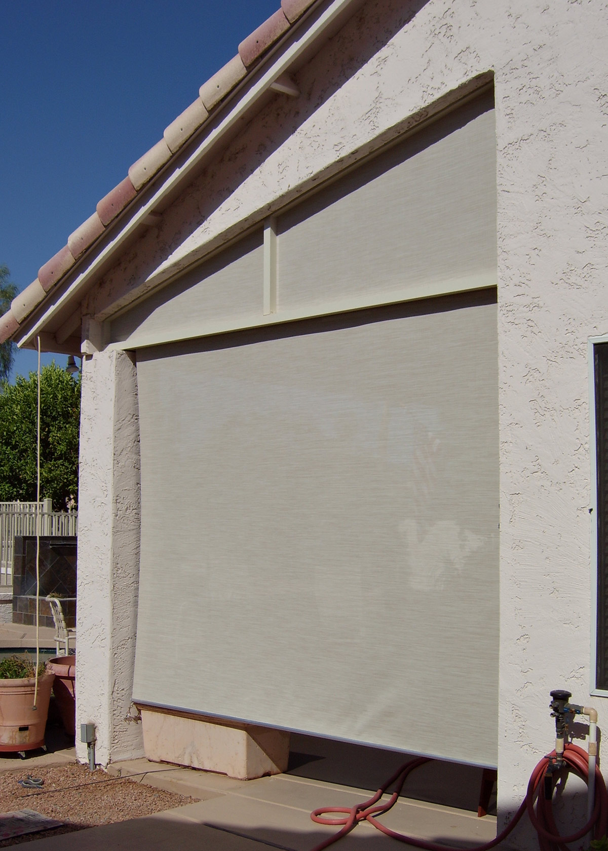 Patio Roll Up Screen