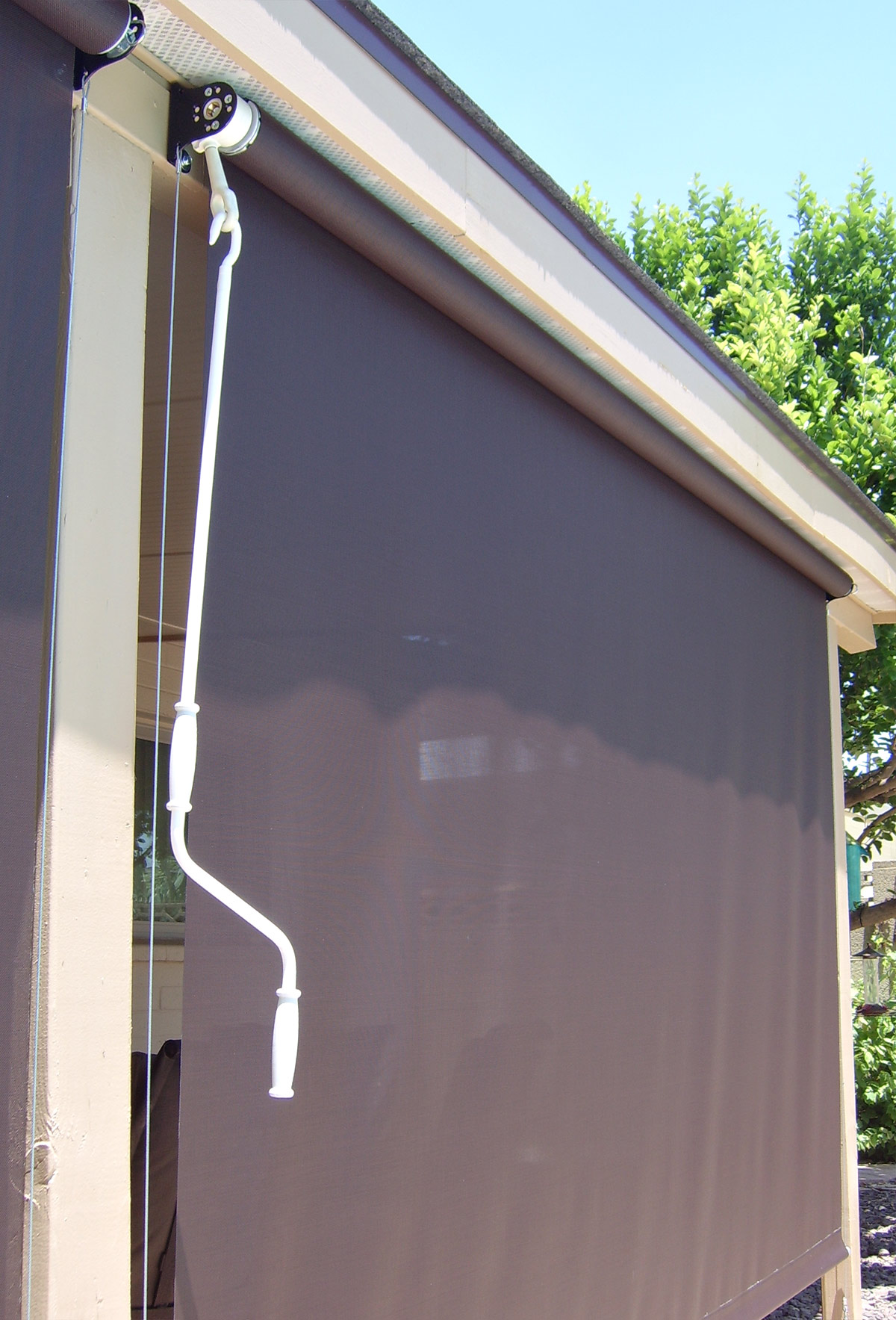 Patio Roll Up Screen   Patio Roll Up Shades   Arizona Sun Screen
