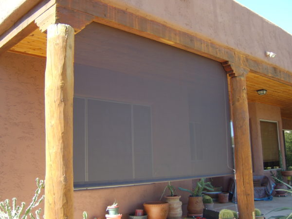 Patio Roll Up Shade