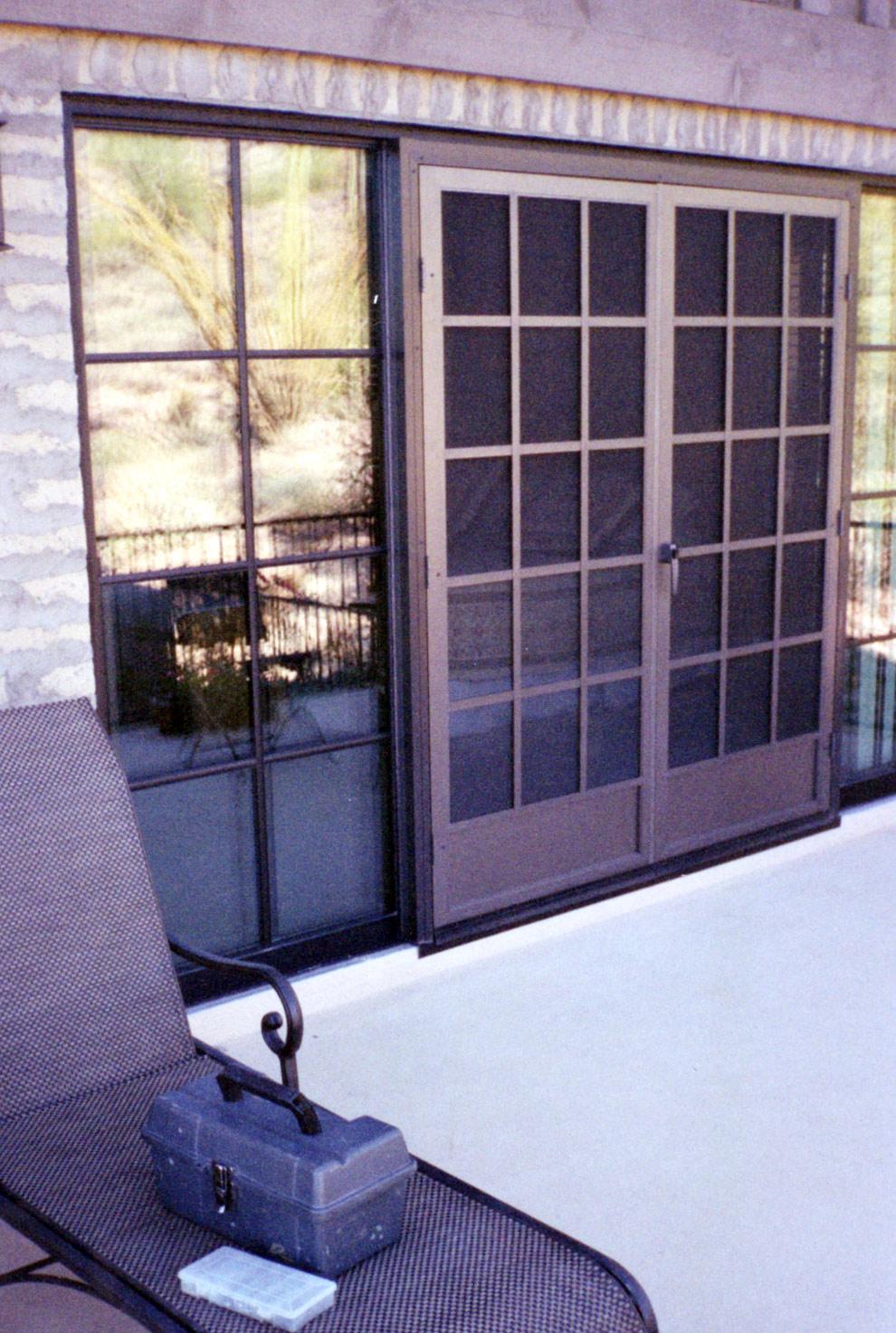 Swinging Screen Door Arizona Sun Screen