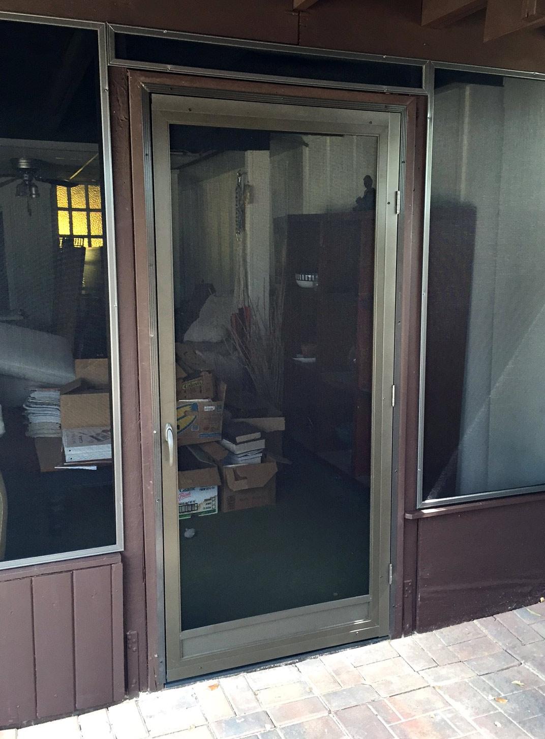 Swinging Screen Doors Arizona Sun Screen