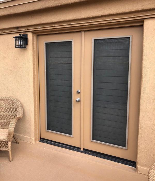 Sunscreen on Doorway